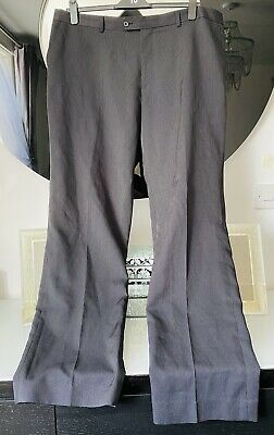 £7.99 • Buy Taylor & Wright Charcoal Pinstripe Straight Leg Suit Trousers Size 42L