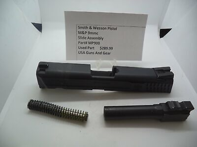 $289.99 • Buy MP900 Smith & Wesson Pistol M&P Slide Assembly Used Part 9mmc S&W
