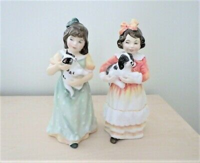 £16 • Buy 2 X Royal Doulton Figures FAITHFUL FRIEND And HOME AT LAST