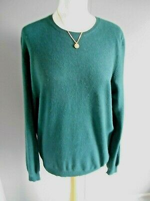 £20 • Buy Lovely  **  M & S Collection  **  100% Cashmere Round Neck Jumper Size 18