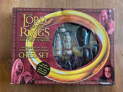 £29 • Buy Lord Of The Rings Chess Set - 2002