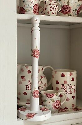 £20 • Buy Emma Bridgewater Themed Wooden Kitchen Roll Holder - Rose And Bee