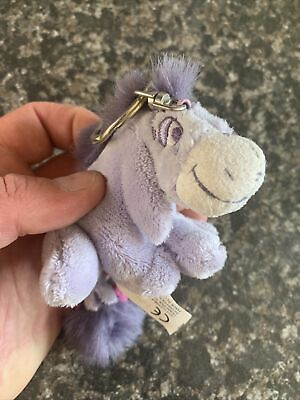 £5 • Buy Disney Eeyore Keyring With Tag Collectable Soft Toy Carte Blanche