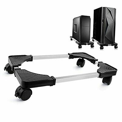 £31.10 • Buy  Computer Tower Stand, Adjustable Mobile CPU Stand With Rolling Caster Wheels,