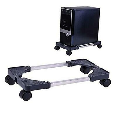 £29.33 • Buy Computer Tower Stand Adjustable PC CPU Stand, Mobile Adjustable Computer