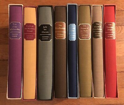 £80 • Buy Collection Of 8 Thomas Hardy Books. Published By The Folio Society 1970s-1990s