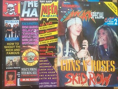 £5 • Buy Guns N' Roses Features X4 (missing Giant Posters) 90s Collectable VG+ RARE