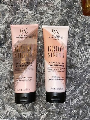 £15 • Buy Charles Worthington GROW STRONG Shampoo And Conditioner 250ml