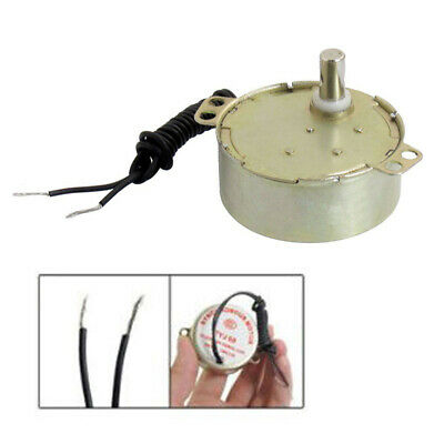 £3.59 • Buy Microwave Oven Synchronous Motor 5RPM/6RPM AC 220-240V 50/60Hz CW/CCW W Cables