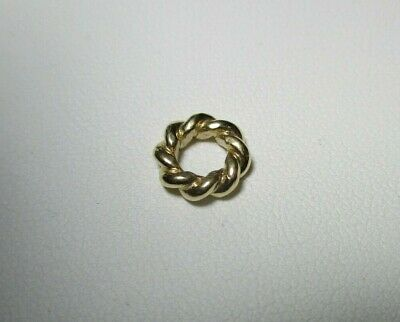 AU185 • Buy PANDORA Twist Spacer Charm - Solid 14ct / 14k Gold 585 ALE Twisted Spacer 750353