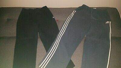 AU24.99 • Buy Adidas X 2 Pairs Of Mens Track Pants (size M) Preowned