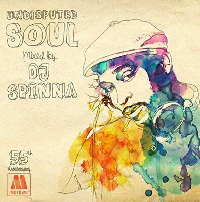 £65.40 • Buy DJ SPINNA-MOTOWN 55TH ANNIVERSARY UNDISPUTED SOUL-JAPAN CD +Tracking Number