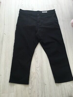 £3.25 • Buy M& S Ladies Super Skinny Black Crop Trousers,size 14,very Good Condition,70 Cott