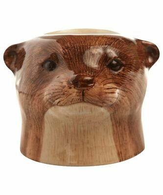 £16.95 • Buy Otter Face Egg Cup By Quail Ceramics British Wildlife Egg Cup