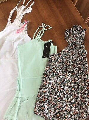 £1.50 • Buy 3 X Camisole Tops 2 X Brand New With Tags H&M Ocean Club F&F Size 12