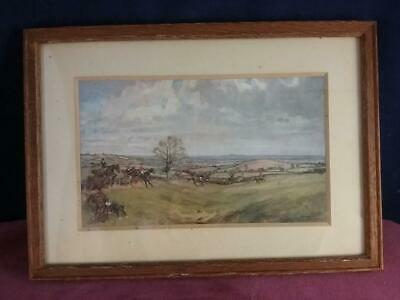 £39.99 • Buy Lionel Edwards TOWARDS UPPER BROUUGHTON FROM THE CURATE HUNTING PRINT