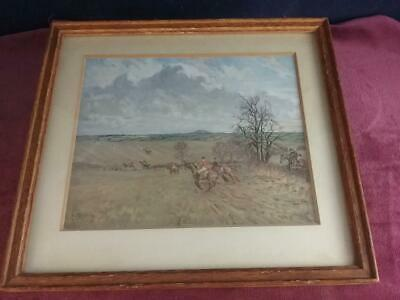 £39.99 • Buy Lionel Edwards THE QUORN FROM BAGGRAVE TO LOWESBY HUNTING PRINT