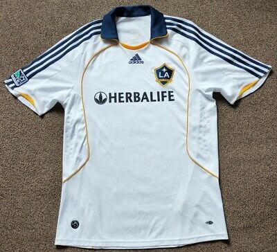 £14.99 • Buy La Galaxy Adidas 2008/09 Home Shirt - Mens Size Large - Excellent