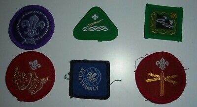 £1.99 • Buy SCOUTS CUB SCOUTS BEAVERS WOVEN CLOTH PATCHES BADGES X 6