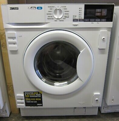 £499 • Buy Zanussi Z716WT83BI 7Kg/4Kg 1600rpm A Rated Integrated Washer Dryer (5326)