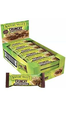 £19.99 • Buy 2 X Nature Valley Crunchy Oats And Chocolate Cereal Bars 18 X 42G (36 Bars)