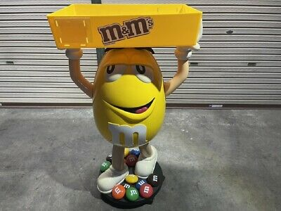 $1707.08 • Buy M & M's Yellow Upper Basket Store Display Oversized Figure With Casters
