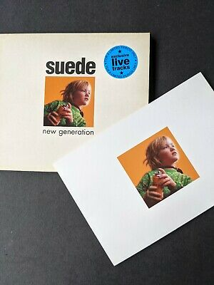 £3 • Buy Suede New Generation CD With Live Tracks