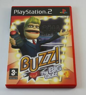 £5 • Buy Buzz The Big Quiz (without Buzzers) (PS2)