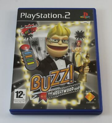 £11.05 • Buy Buzz The Hollywood Quiz (without Buzzers) (PS2) ✔ Collectible Condition