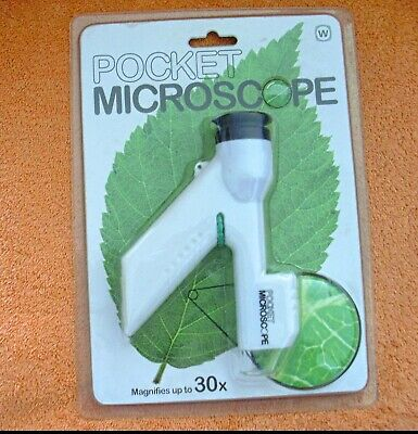 £1.50 • Buy Microscope Junior Pocket Microscope Age 6+ - MAGNIFIES UP TO 30X  -   New