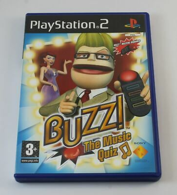 £8.95 • Buy Buzz The Music Quiz (without Buzzers) (PS2)