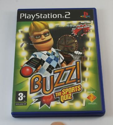 £8.25 • Buy Buzz The Sports Quiz (without Buzzers) (PS2)