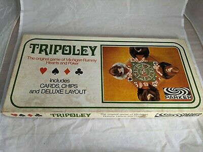 £19.99 • Buy Vintage 1960s Tripoley By Parker Games COMPLETE
