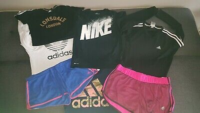 AU24.99 • Buy Girls Nike/ Adidas/ Lonsdale 7 Piece Clothing Pack (size M To 12)