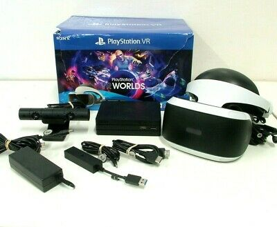 AU255 • Buy Sony PlayStation 4 5 PS4 PS5 PS VR Virtual Reality Headset Starter Pack CUH-ZVR2