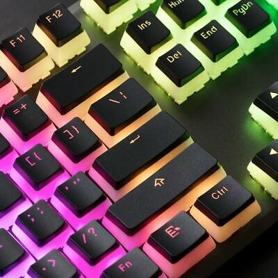 £15.99 • Buy 104 Key PBT Pudding Keycaps Double Shot MX Mechanical Keyboard [No Packaging]