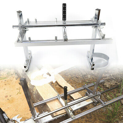 £58.99 • Buy Chainsaw Mill Attachment  Planking Milling Lumber For 14  - 24  Guide Portable