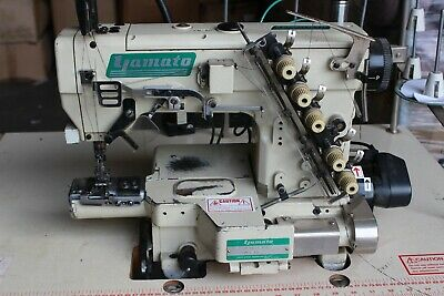 £1299.99 • Buy YAMATO VE-2711 Small Cylinder Coverstitch Machine With TABLE Good CONDITION