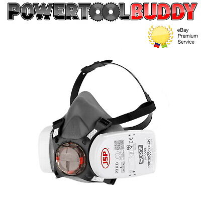 £22.95 • Buy JSP Force 8 Half-Mask With Press To Check P3 RD Filters - Size Medium