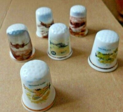£6.50 • Buy Job Lot Of Thimbles  6 In Lot  Aircraft    As Shown Enlarge Photo Unboxed