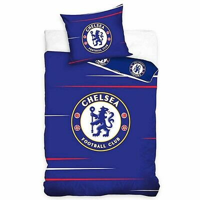 £22.99 • Buy Official Reversible Chelsea FC Single Football Duvet Cover Set With Pillowcase