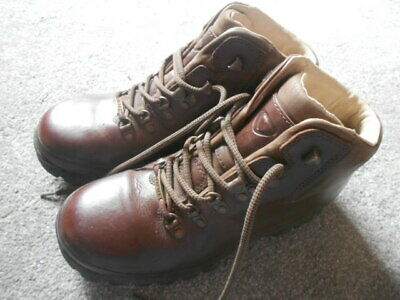 £19 • Buy Brasher Brown Leather Walking Hiking Boots Size 6.5 - Excellent Condition