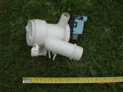 £10 • Buy Hoover Optima WMH 147DF Washing Machine Water Drain Pump Assembly -- USED--