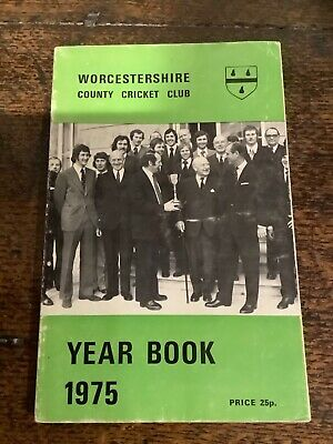 £0.99 • Buy Worcestershire County Cricket Year Book 1975 Good Condition