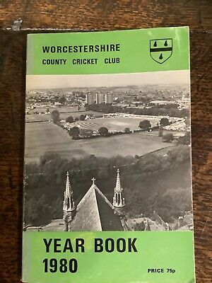 £0.99 • Buy Worcestershire County Cricket Year Book 1980 Good Condition