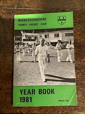 £0.99 • Buy Worcestershire County Cricket Year Book 1981 Good Condition