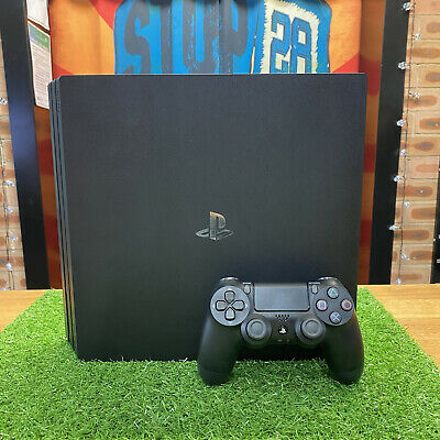 AU349 • Buy Sony PLAYSTATION 4 Pro 1TB Black Console - Includes Genuine Controller & Leads