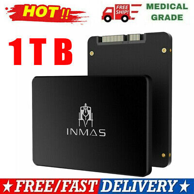 £61.60 • Buy NEW 1 TB Solid State Drive Internal SSD Hard Drive Up To 500 MB/s SATA 6.0 GB/s