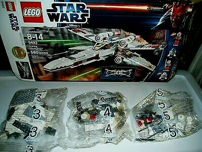 £112.99 • Buy Lego X-Wing Starfighter #9493-Collectible-Complete-Sealed Bags W/some Built 2012