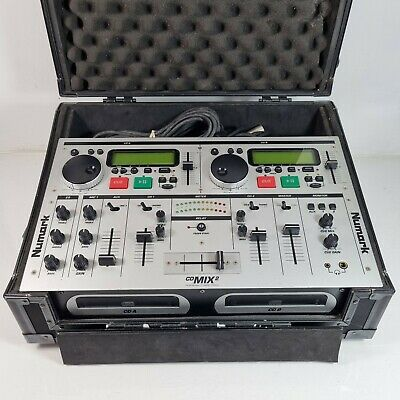 £199.99 • Buy Numark CD Mix 2 Professional Mixer With Cables And Carry Case Good Working Order